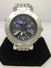 "HARRY WINSTON LIMITED EDITION OCEAN RATTRAPANTE CHRONOGRAPH PLATINUM MEN""S WATCH"