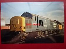 PHOTO  CLASS 37 DIESEL LOCO NO 37358 P&O CONTAINERS