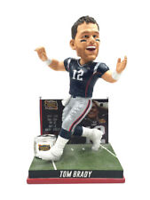 "New England Patriots Tom Brady 2nd Super Bowl Win BobbleHead 10"" NIB 2004"