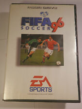 Sega Mega Drive Genesis Systems FIFA 96 SOCCER  BOX + Manual BY 1995 EA GAMES
