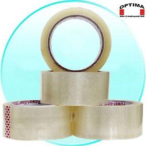 Klebeband Packband 66 m Rolle Transparent/Klar