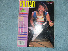 Guitar Magazine September 1984 RUDOLF SCHENKER