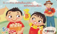 telecard  Thailande  Happy