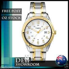 Timex Men's Easton Avenue 2-Tone Bracelet Watch, TW2P76500 - Free Post in AU