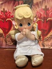 Precious Moments Plush Girl Angel Doll Says Bedtime Lords Prayer Pal Descontinue