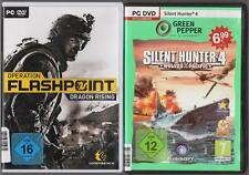 Operation Flashpoint Dragon Rising + Silent Hunter 4 Wolves Of The Pacific PC