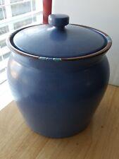 """Dansk MESA SKY BLUE Sugar Canister cookie jar 6 3/8"""""""