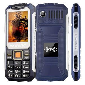 VKWORLD STONE V3S RUGGED PHONE.2200mAh BATTERY ❚IP65❚ FLASHLIGHT/KEYPAD_[BLUE]_