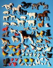 Lot Of 80 Vintage Toy Plastic Farm Animal Figures
