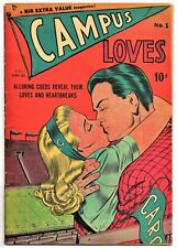 🍁 Campus Loves #1 ( Bell Features Pub. Toronto Can., 1950 ) Canadian Edition