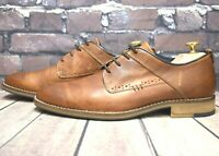 Men's Paul Hunter Brown Leather Lace Up Shoes Size UK 7 EUR 41 RRP - £59