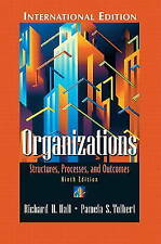 Organizations: Structures, Processes, and Outcomes by Hall, Richard H., Tolbert