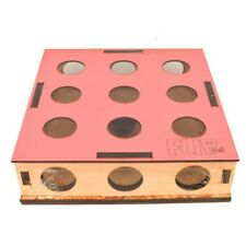 Cat Toy Pet Indoor Wooden Hunt Toy Interactive Game holed with ball Scratch
