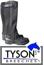 Reitchaps Chaps XXXL 43  50 cm extra weit Minichaps Übergröße weite Waden Tysons