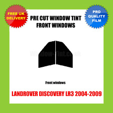 LANDROVER DISCOVERY LR3 2004-2009 FRONT PRE CUT WINDOW TINT KIT