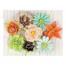 PRIMA Leeza Gibbons Pocket Book Pad ~Roses~ Paper Flowers! 970734