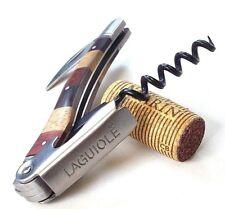 Laguiole ARX kellnermesser sacacorchos, kapselheber diapositivas cuchillo tricolor! nuevo!