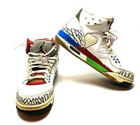 Rare Nike Air Jordan Shoes Men's Size 8.5 (407361-102) (M-111)