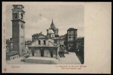 cartolina TORINO la cattedrale (s.giovanni battista) meo del caprino 1498