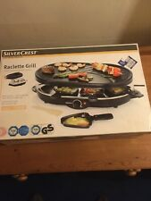 New Silver Crest Raclette Grill 1200w