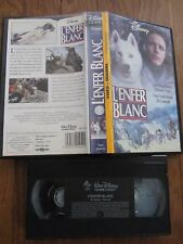 L'enfer blanc de Charles Haid avec Kevin Spacey, VHS, Aventure