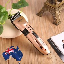 Electric Mens Rechargeable Washable Shaver Beard Hair Clipper Trimmer Set Hot 1A