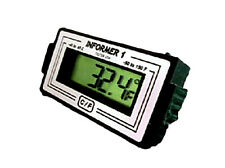 Digital Backlit Car / Truck Thermometer Temp Meter - Informer 1 GLOW, Teltek USA