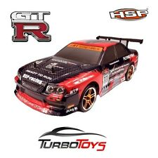 NEW - HSP RC 1/10 2.4GHZ 4WD SKYLINE GTR DRIFT CAR 94123 1233-HOBBY PRODUCT-RTR