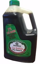 Kikkoman Soy Sauce 37% Less Sodium Traditionally Brewed 2qt (1.89L)