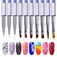 10 Styles Nicole Diary ND Nail Art UV Gel Brush Pearl Painting Pen  Tool