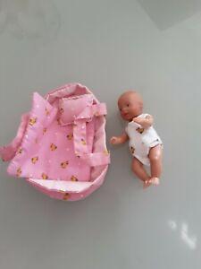 Mini Babypuppe Geschenkbox 7,5cm