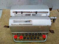 ADDING MACHINE ARITHMOMETER VK1 mechanical calculator SOVIET RUSSIAN