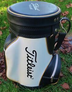 "18"" Vintage TITLEIST Golf Bag DEN CADDY, Seat STORE DISPLAY - Acushnet Company"