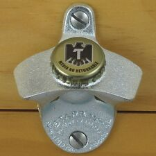 TECATE Mexican Beer BOTTLE CAP Starr X Wall Mount Stationary Bottle Opener NEW!!