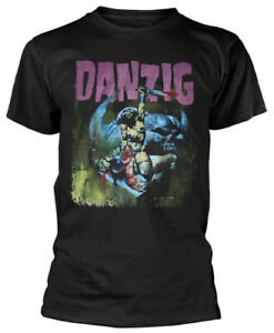 Danzig 'Warrior' (Black) T-Shirt - NEW & OFFICIAL!