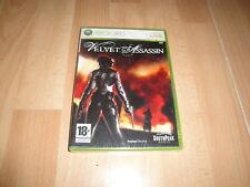 Pal version Microsoft Xbox 360 Velvet Assassin