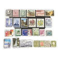 ICELAND, PKG # 4 (25 STAMPS) 1911 PLUS VARIOUS ISSUES USED