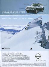 "Nissan X-Trail ""You Take Them To The X-Treme"" 2006 Magazine Advert #2340"