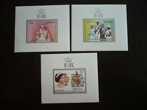 Stamps - Liberia - Scott# 788-790 - 3 Souvenir Sheets