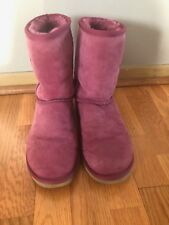 Womens Classic Short Pink Ugg Boots