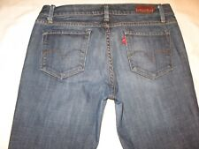 Levis Capital E Jeans Ruler Low Slim Straight Leg Sz 30  USA Made