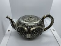 Antique 1888 Russian Sterling Silver 84 Teapot Moscow Hallmarked A.P. 325 Grams