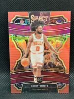 2019 Panini Select Red Coby White /199 Centered HOT