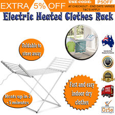 Bathroom Towel Warmer Electric Clothes Rack  Rail Drying Laundry Heated