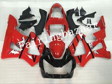 Fit for CBR929RR 2000 2001 Red Black ABS Injection Mold Bodywork Fairing Kit