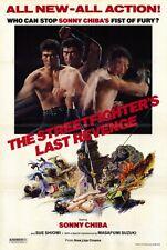 STREETFIGHTER'S LAST REVENGE Movie POSTER 27x40 Sonny Chiba Frankie Black Cathy