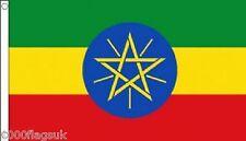 Etiopía 5'x3' BANDERA