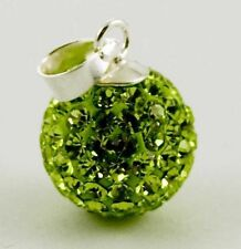 Unbranded Sterling Silver Peridot Fine Necklaces & Pendants