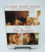 THE READER DVD MOVIE, KATE WINSLET, RALPH FIENNES, DAVID KROSS, LENA OLIN, WS