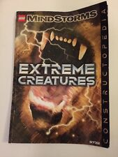 Lego MindStorms Extreme Creatures Instruction Manual 9732 Only